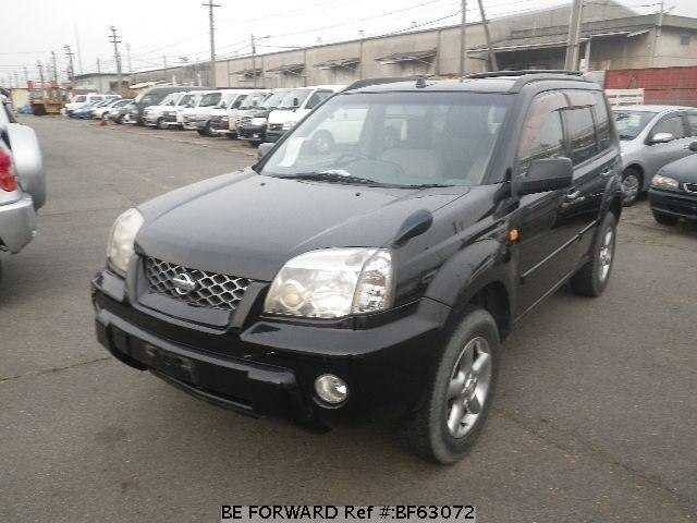 Used 2001 NISSAN X-TRAIL BF63072 for Sale