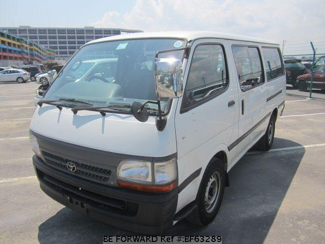 Used 2000 TOYOTA HIACE VAN BF63289 for Sale