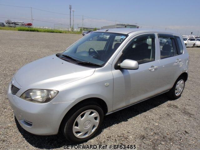 Used 2003 MAZDA DEMIO BF63485 for Sale