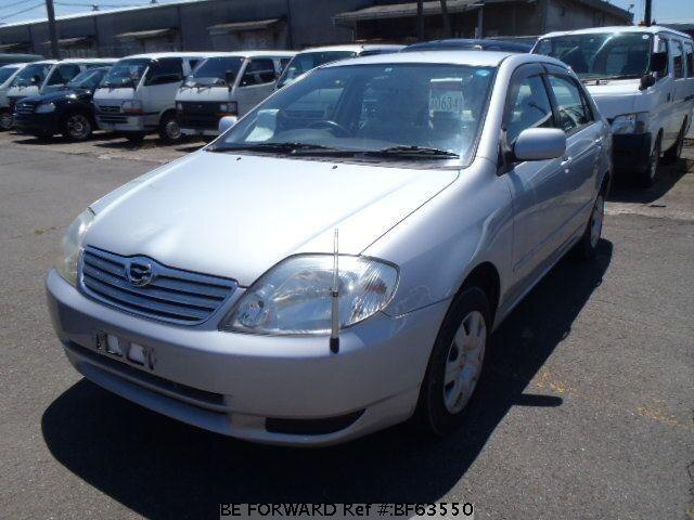 Used 2003 TOYOTA COROLLA SEDAN BF63550 for Sale
