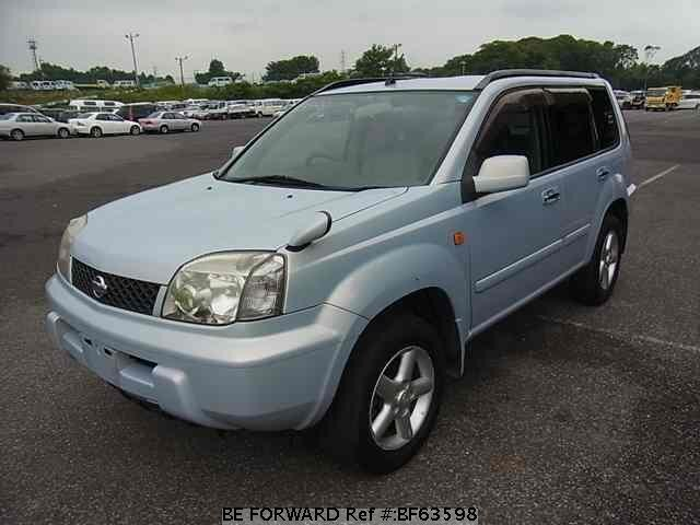 Used 2001 NISSAN X-TRAIL BF63598 for Sale