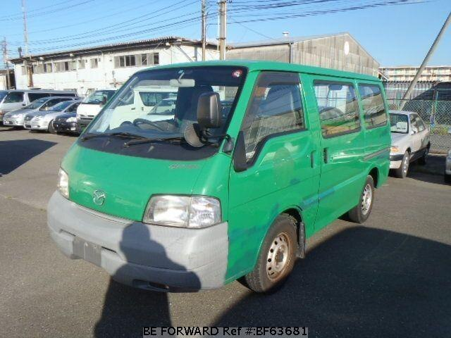Used 2003 MAZDA BONGO VAN BF63681 for Sale