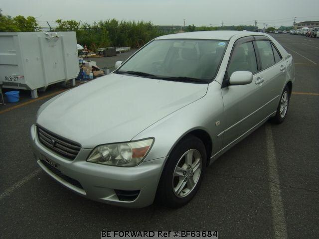 Used 2001 TOYOTA ALTEZZA BF63684 for Sale