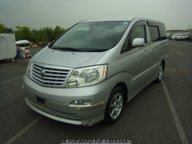 Used 2002 TOYOTA ALPHARD V BF63687 for Sale