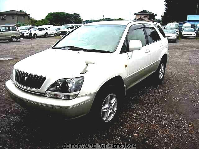 Used 1998 TOYOTA HARRIER BF63894 for Sale