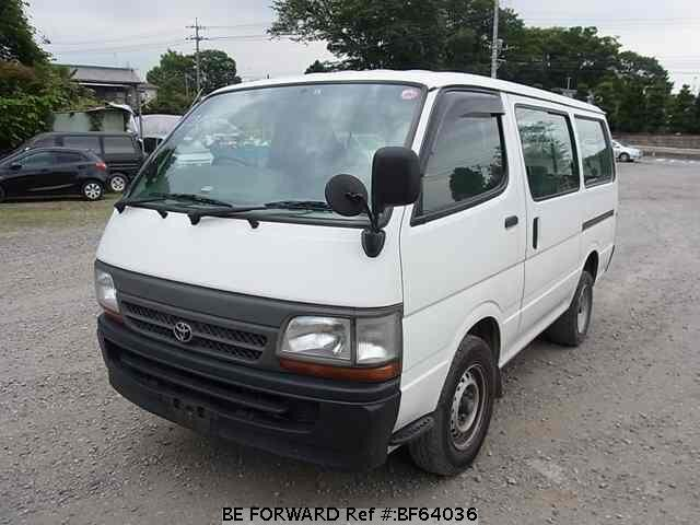 Used 2004 TOYOTA HIACE VAN BF64036 for Sale