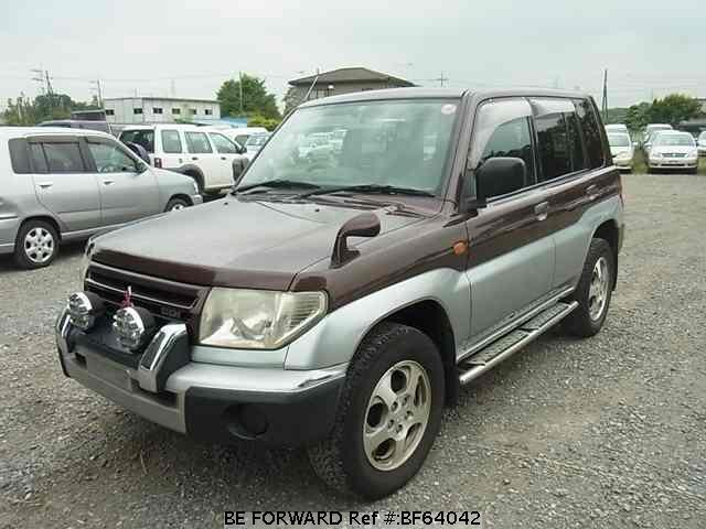 Used 1998 MITSUBISHI PAJERO IO BF64042 for Sale