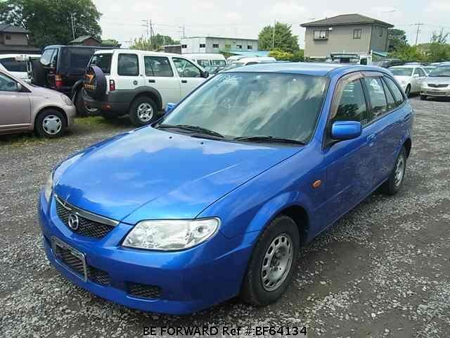 Used 2002 MAZDA FAMILIA S-WAGON BF64134 for Sale