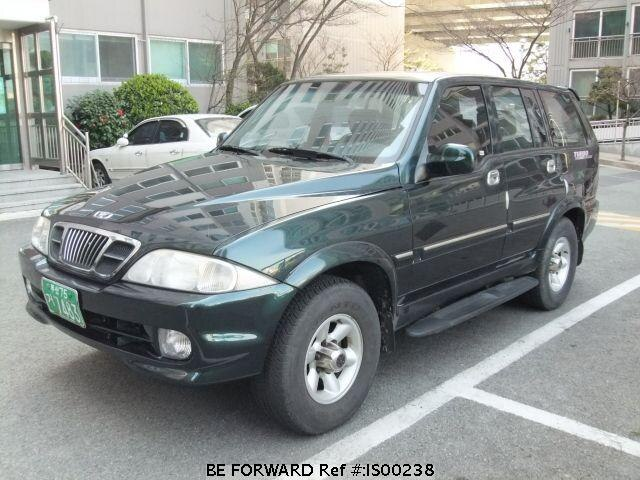 Used 2000 SSANGYONG MUSSO IS00238 for Sale