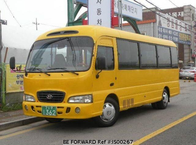 Used 1999 HYUNDAI COUNTY IS00267 for Sale