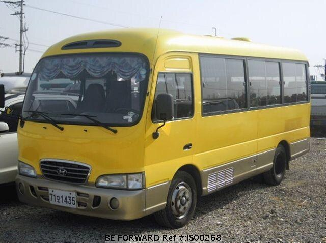 Used 2000 HYUNDAI COUNTY IS00268 for Sale