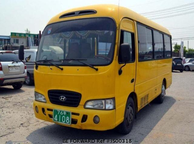 Used 2000 HYUNDAI COUNTY IS00318 for Sale
