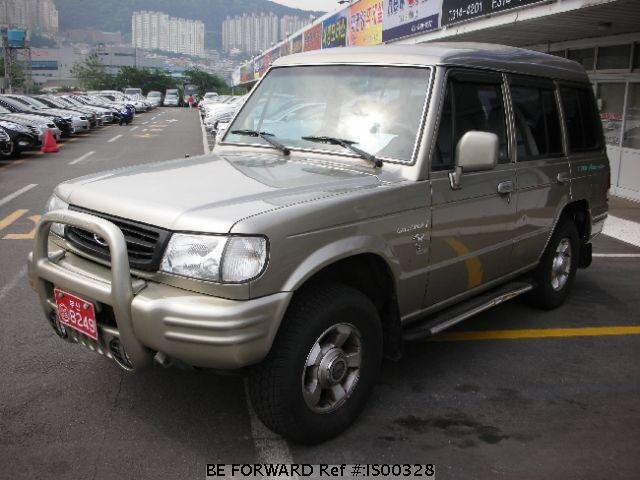 Used 2000 HYUNDAI GALLOPER IS00328 for Sale