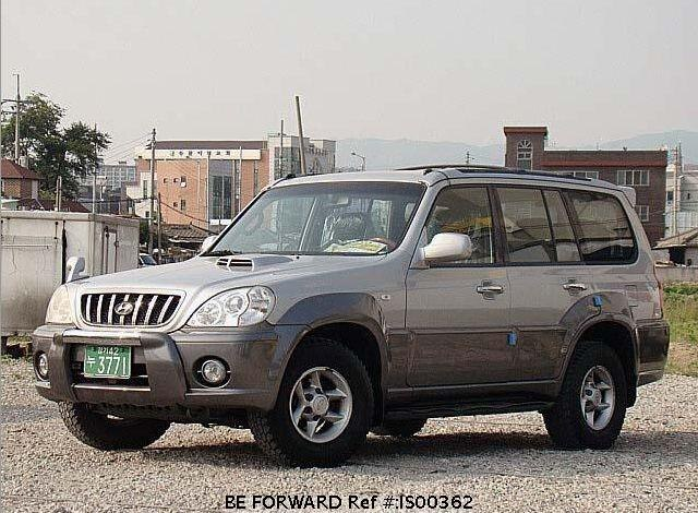 Used 2001 HYUNDAI TERRACAN BF66821 for Sale