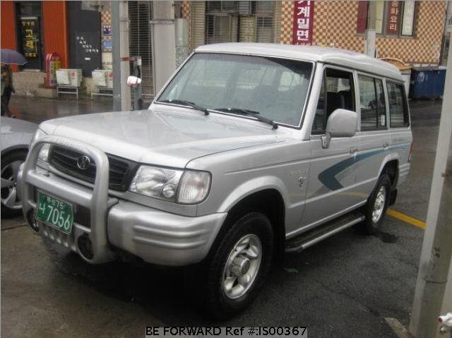 Used 1997 HYUNDAI GALLOPER IS00367 for Sale