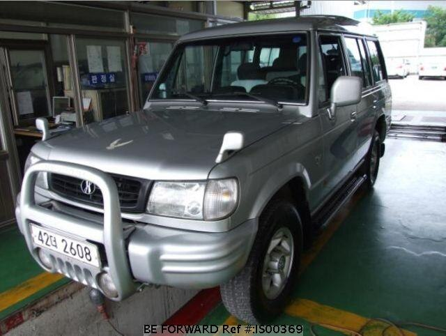 Used 1997 HYUNDAI GALLOPER IS00369 for Sale