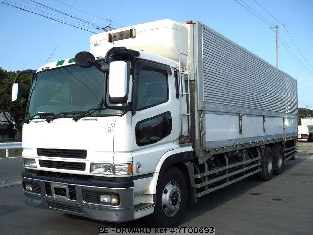 Used 2002 MITSUBISHI SUPER GREAT YT00693 for Sale
