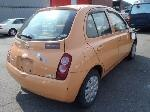 Used 2003 NISSAN MARCH BF56232 for Sale Image 5
