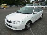 Used 2002 MAZDA FAMILIA S-WAGON BF57590 for Sale Image 1