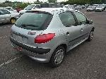 Used 1999 PEUGEOT 206 BF61820 for Sale Image 5