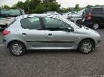 Used 1999 PEUGEOT 206 BF61820 for Sale Image 6