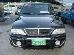 Used 2003 SSANGYONG MUSSO IS00343 for Sale Image 4