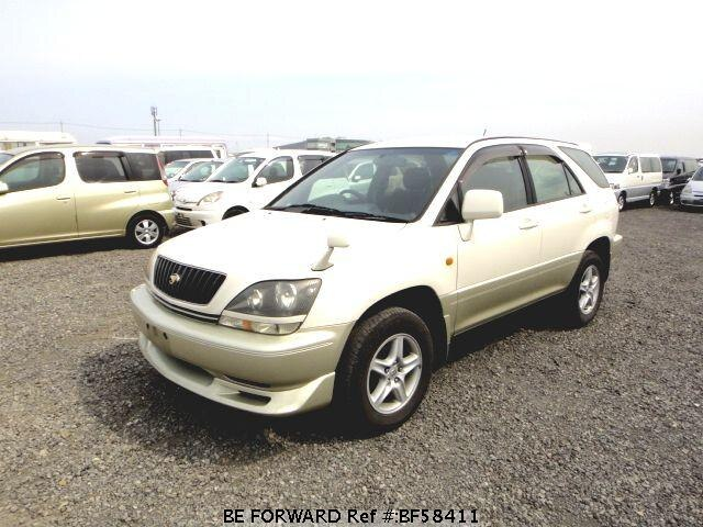 Used 1999 TOYOTA HARRIER BF58411 for Sale