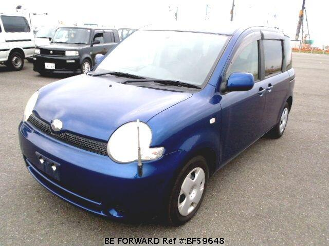 Used 2003 TOYOTA SIENTA BF59648 for Sale