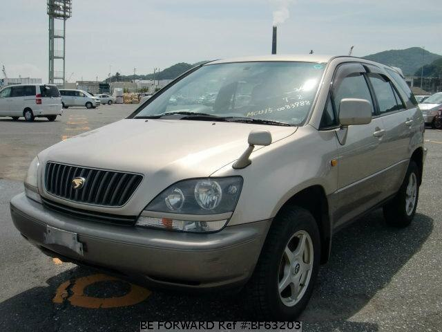 Used 1999 TOYOTA HARRIER BF63203 for Sale