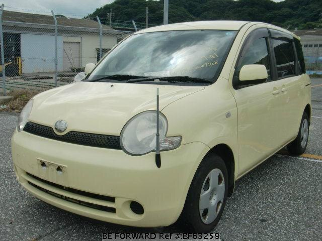 Used 2003 TOYOTA SIENTA BF63259 for Sale