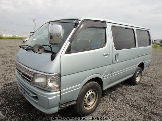 Used 2001 TOYOTA HIACE VAN BF63167 for Sale
