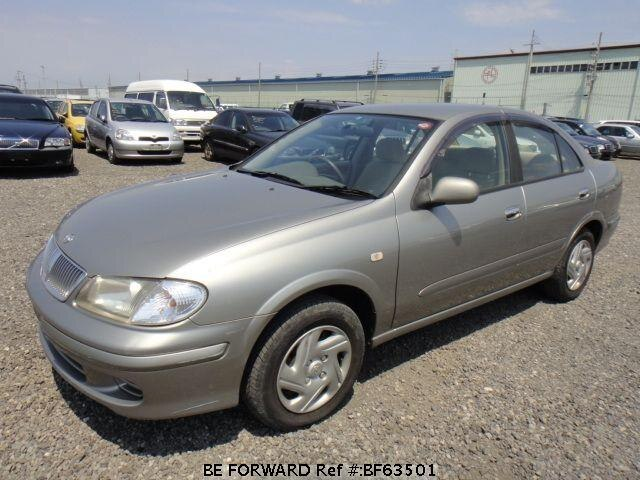 Used 2002 NISSAN BLUEBIRD SYLPHY BF63501 for Sale