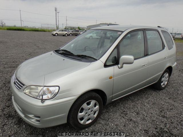 Used 2000 TOYOTA COROLLA SPACIO BF63487 for Sale