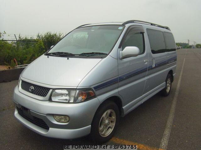 Used 1997 TOYOTA REGIUS WAGON BF63785 for Sale