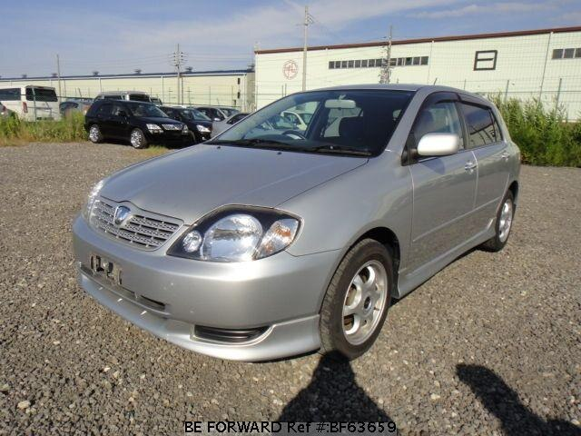 Used 2001 TOYOTA ALLEX BF63659 for Sale