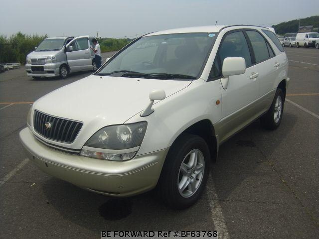 Used 1999 TOYOTA HARRIER BF63768 for Sale