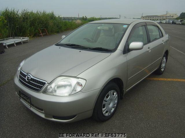 Used 2002 TOYOTA COROLLA SEDAN BF63775 for Sale