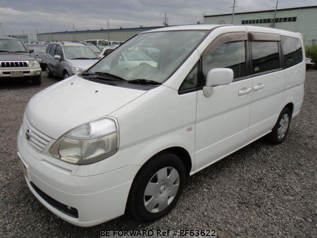Used 2002 NISSAN SERENA BF63622 for Sale
