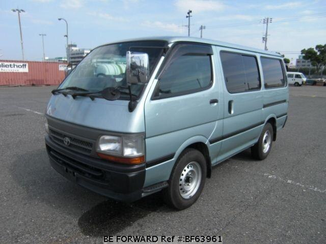 Used 2001 TOYOTA HIACE VAN BF63961 for Sale