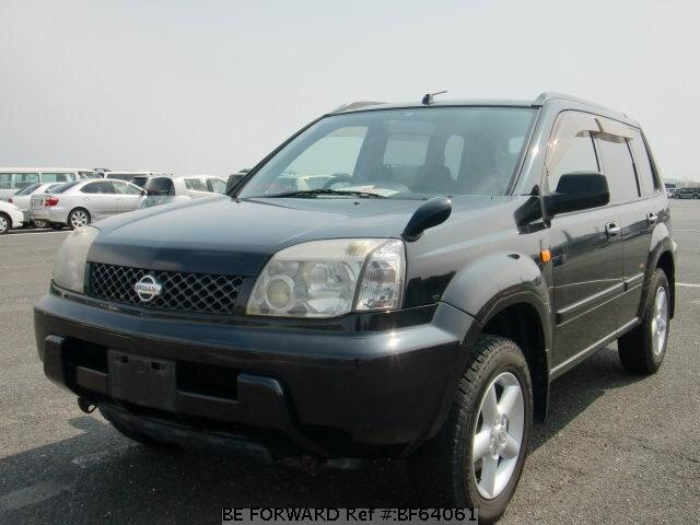 Used 2001 NISSAN X-TRAIL BF64061 for Sale
