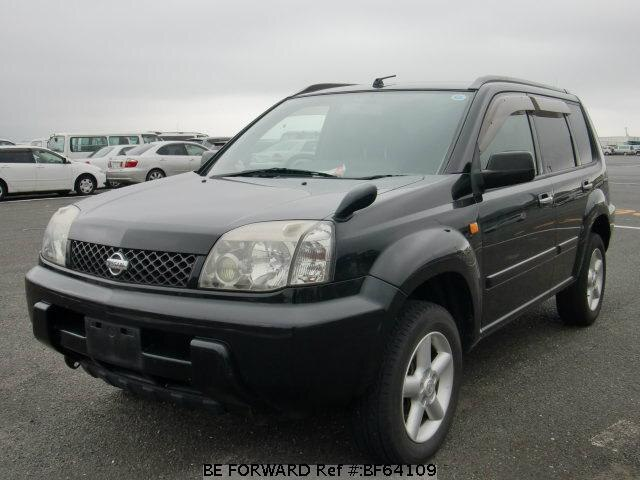 Used 2001 NISSAN X-TRAIL BF64109 for Sale