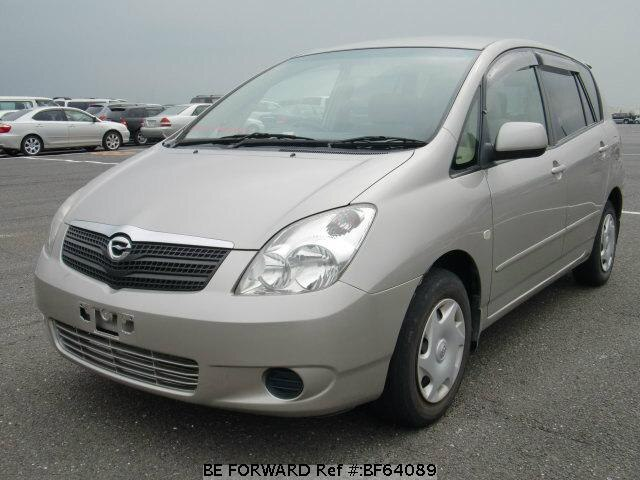 Used 2001 TOYOTA COROLLA SPACIO BF64089 for Sale