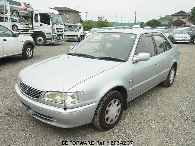 Used 2000 TOYOTA COROLLA SEDAN BF64207 for Sale