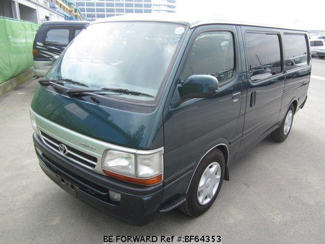Used 2004 TOYOTA HIACE VAN BF64353 for Sale