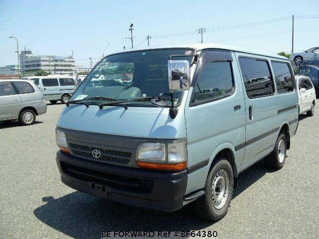 Used 2001 TOYOTA HIACE VAN BF64380 for Sale