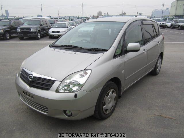 Used 2002 TOYOTA COROLLA SPACIO BF64332 for Sale