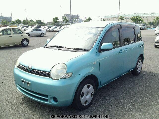 Used 2004 TOYOTA SIENTA BF64596 for Sale