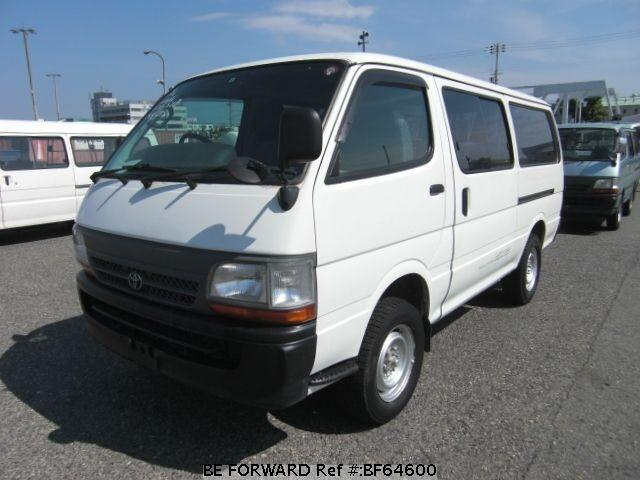 Used 2002 TOYOTA HIACE VAN BF64600 for Sale