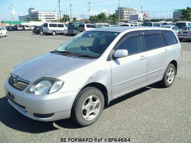 Used 2001 TOYOTA COROLLA FIELDER BF64684 for Sale