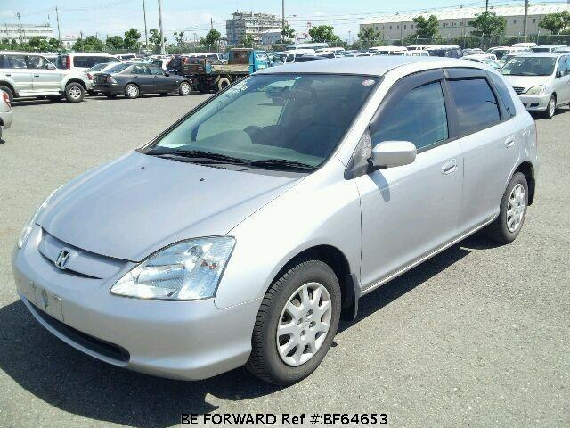 Used 2002 HONDA CIVIC BF64653 for Sale